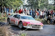 BMW M1 Bernard Beguin, Possibly Lyon-Charbonnières Rally 1983